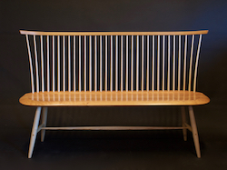 contemporary windsor benches and settees by timothy clark, modern windsor