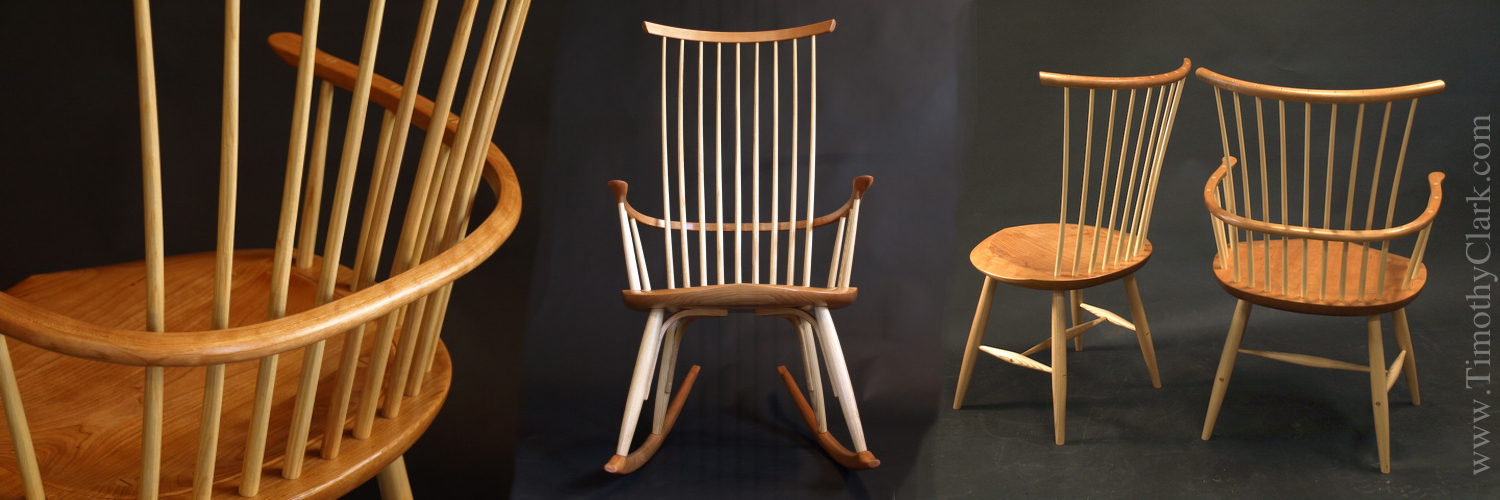 Original Designed Windsor Chairs and Shaker Inspired furniture by Timothy Clark